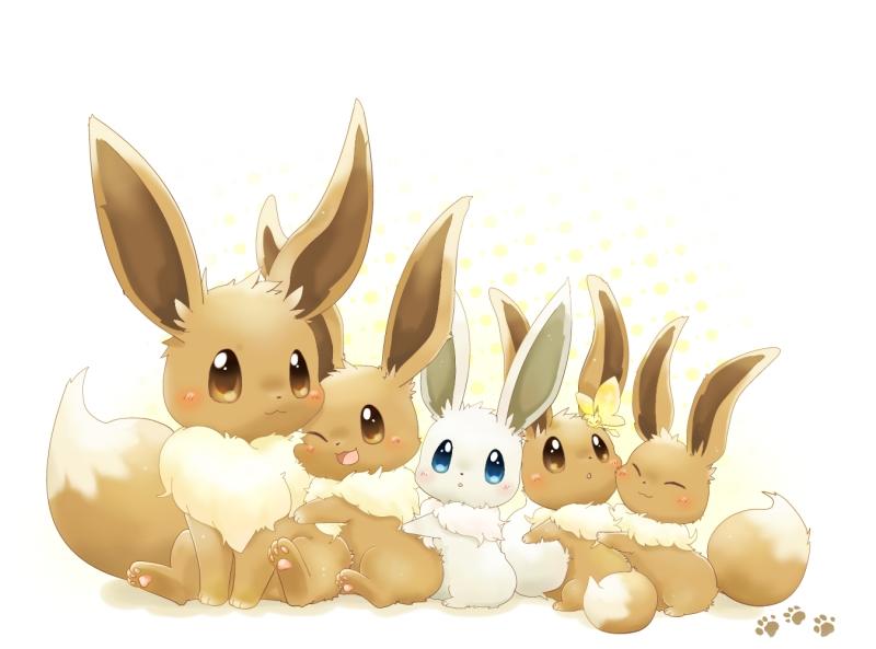 Eevee Pok 233 Mon Image 1571198 Zerochan Anime Image Board
