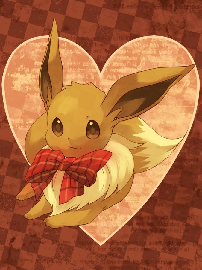 Tags: Anime, Amarisu, Pokémon, Eevee, Pixiv, Fanart From Pixiv, Fanart, PNG Conversion