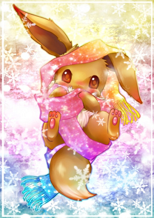 Tags: Anime, Handymonsters, Pokémon, Eevee, Pixiv