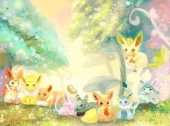 Eevee Pokemon Wallpaper  WallpaperSafari