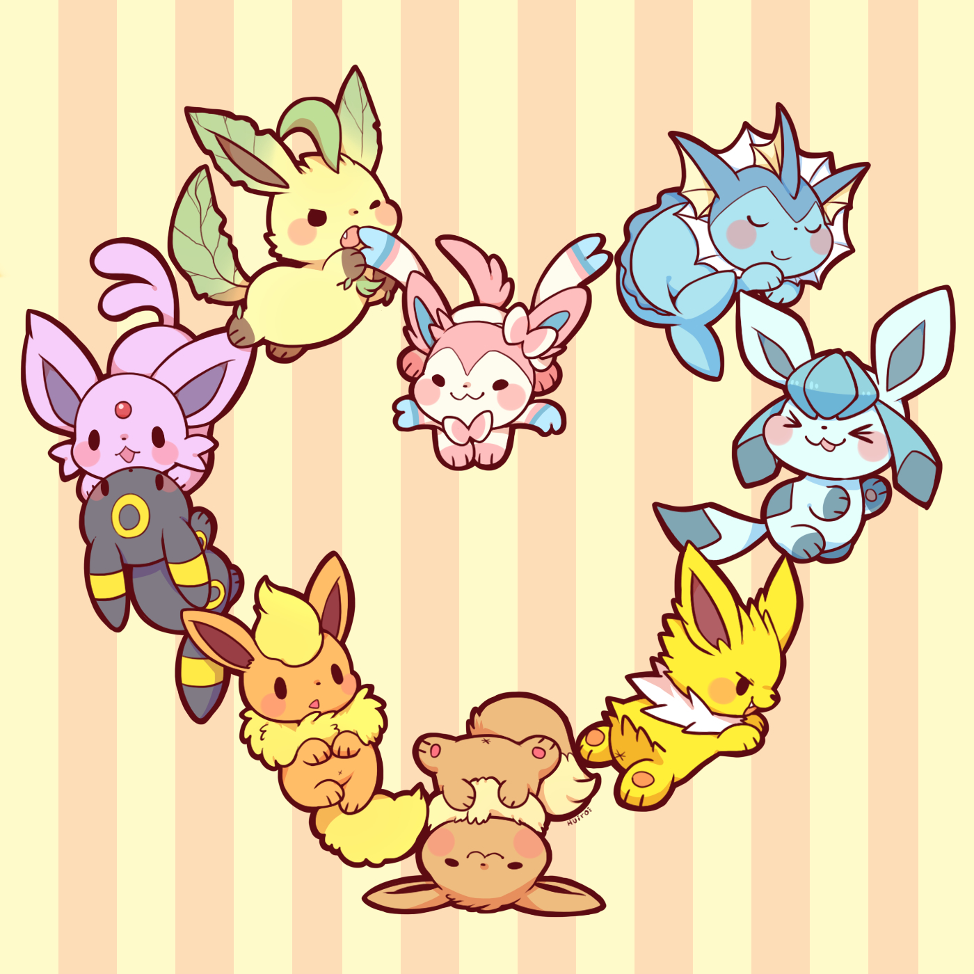 Eeveelution Pokémon