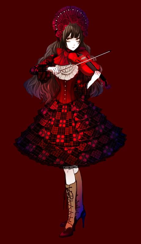 Tags: Anime, Eiri, Classic Lolita, Pixiv, Mobile Wallpaper