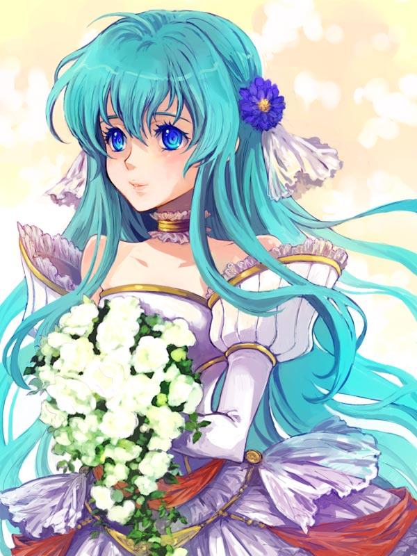 Wedding Dress, Bouquet | page 14 - Zerochan Anime Image Board