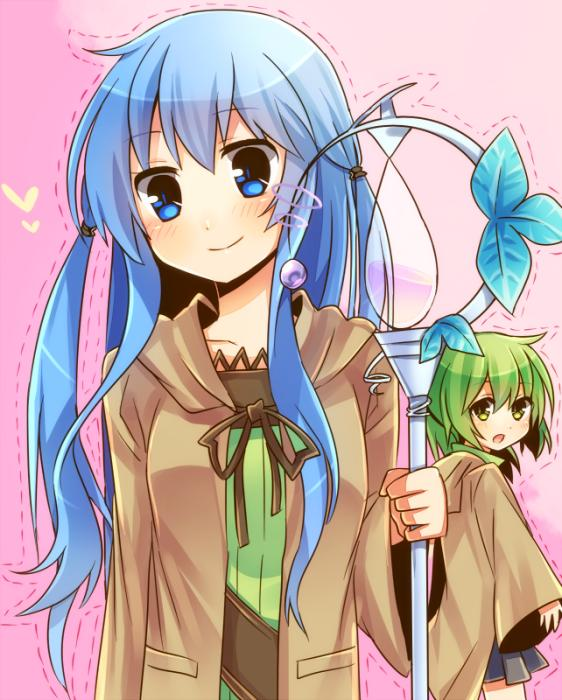 Tags: Anime, Ame Moti, Yu-Gi-Oh!, Wynn the Wind Charmer, Eria the Water Charmer, Magic User Outfit, Sorcerer, Fanart, Pixiv, Fanart From Pixiv, Elemental Charmers