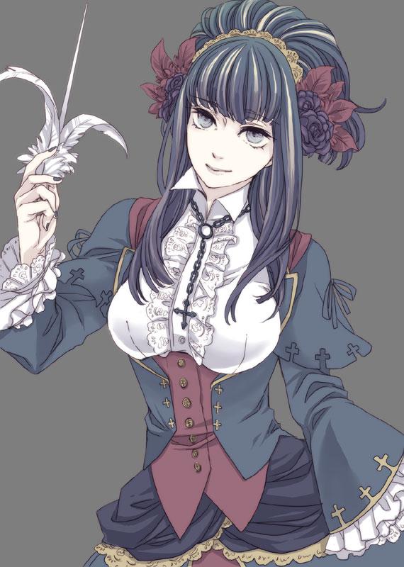 Tags: Anime, Chiyo (Pixiv53622), Märchen von Friedhof, Elisabeth von Wettin, Märchen von Friedhof (Cosplay), Märchen, Fanart, Mobile Wallpaper, Sound Horizon