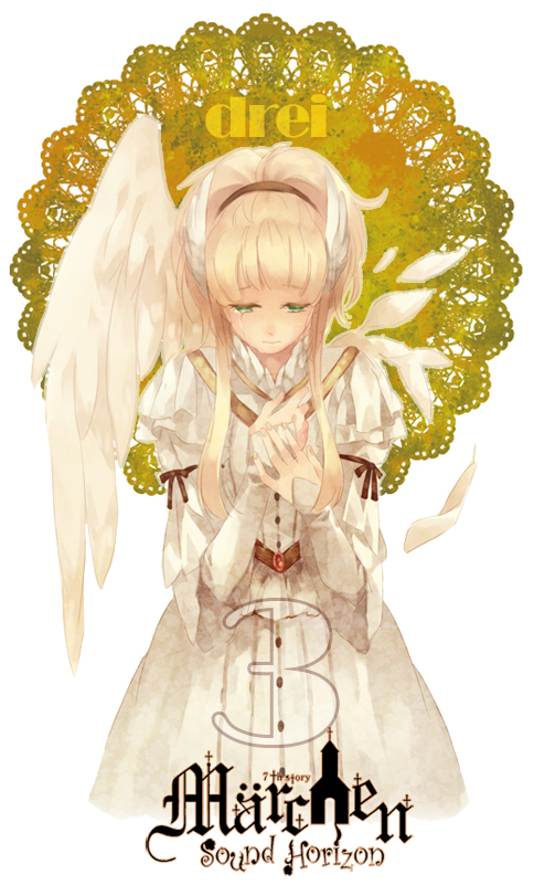 Tags: Anime, Bangoul, Elisabeth von Wettin, One Wing, Fanart, Mobile Wallpaper, Pixiv, Märchen, Sound Horizon