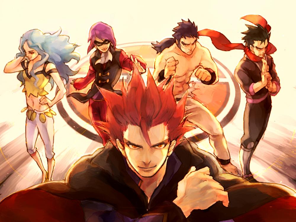 Pokemon Gen 4 Anime Characters : Elite four zerochan