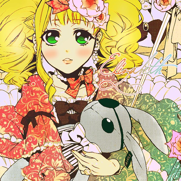 Tags: Anime, Toboso Yana, Kuroshitsuji, Elizabeth Ethel Cordelia Midford, deviantART, Colorization