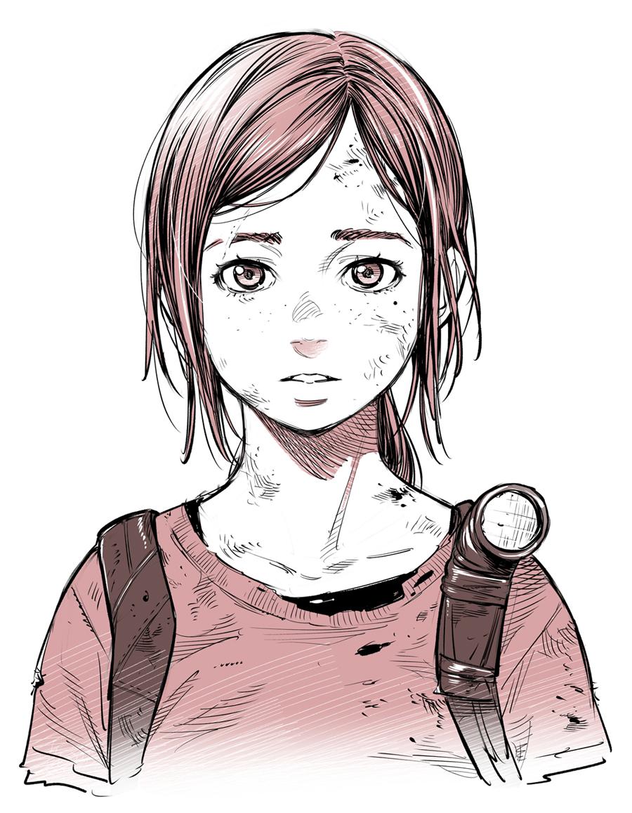 Ellie The Last Of Us Image 2104074 Zerochan Anime Image
