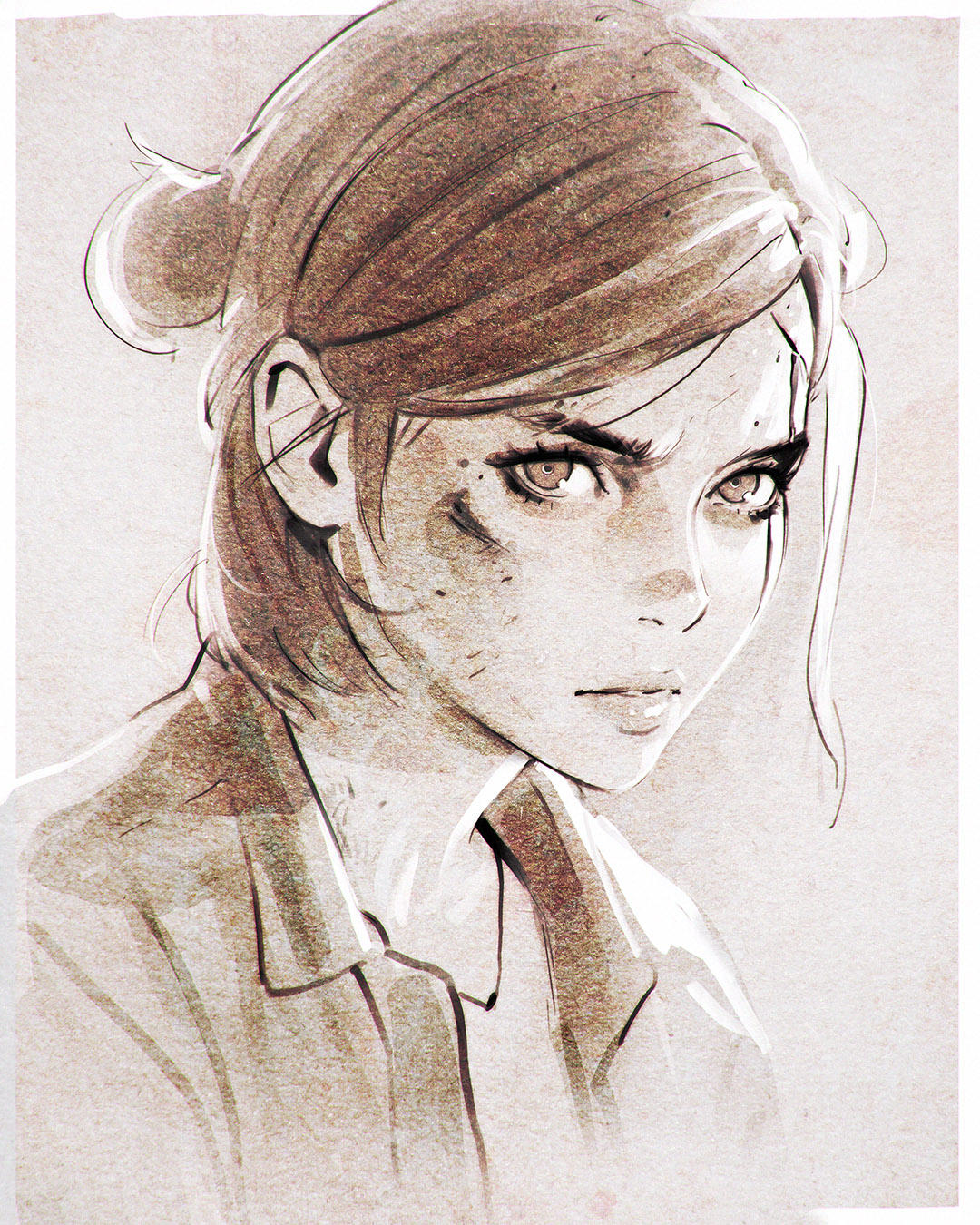 Ellie The Last Of Us Image 2132108 Zerochan Anime Image