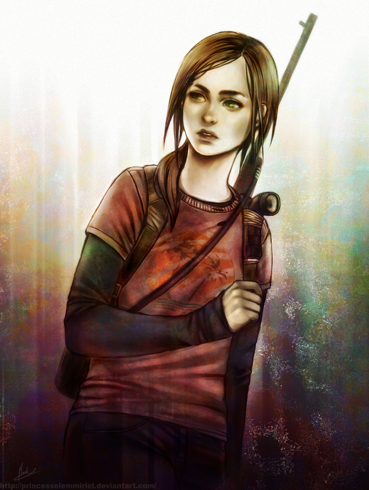 Ellie The Last Of Us Image 2137538 Zerochan Anime Image