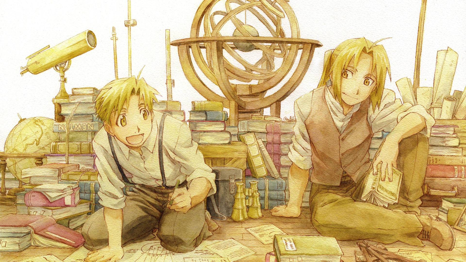 Elric Brothers Download Image