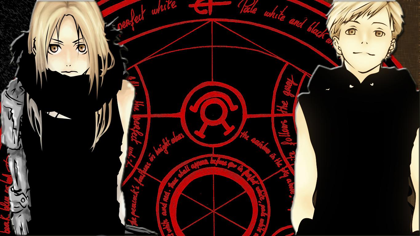Elric Brothers - Fullmetal Alchemist - Wallpaper #249084