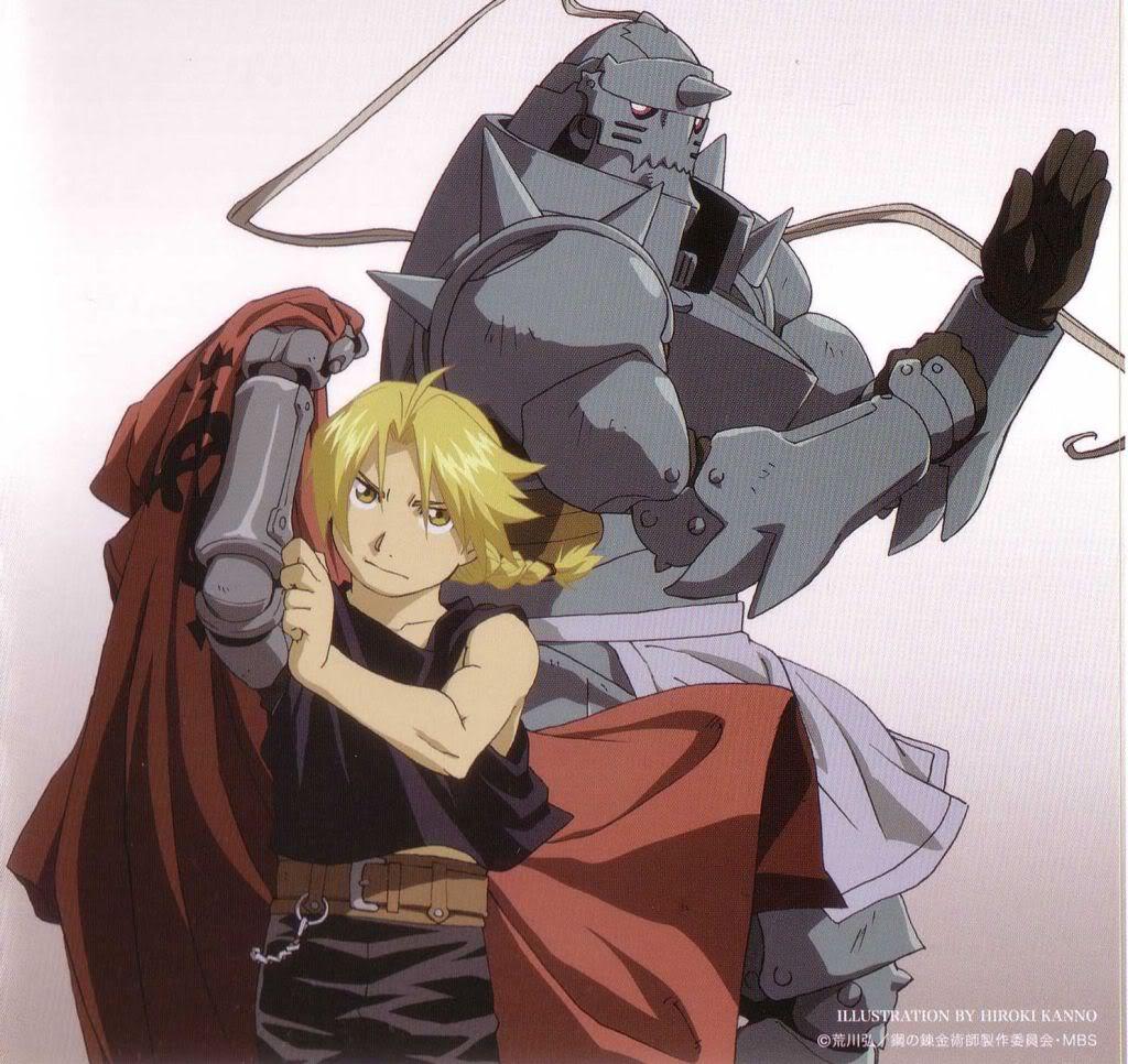 Elric Brothers - Fullmetal Alchemist - Image #736370 ... Fullmetal Alchemist Alphonse Elric