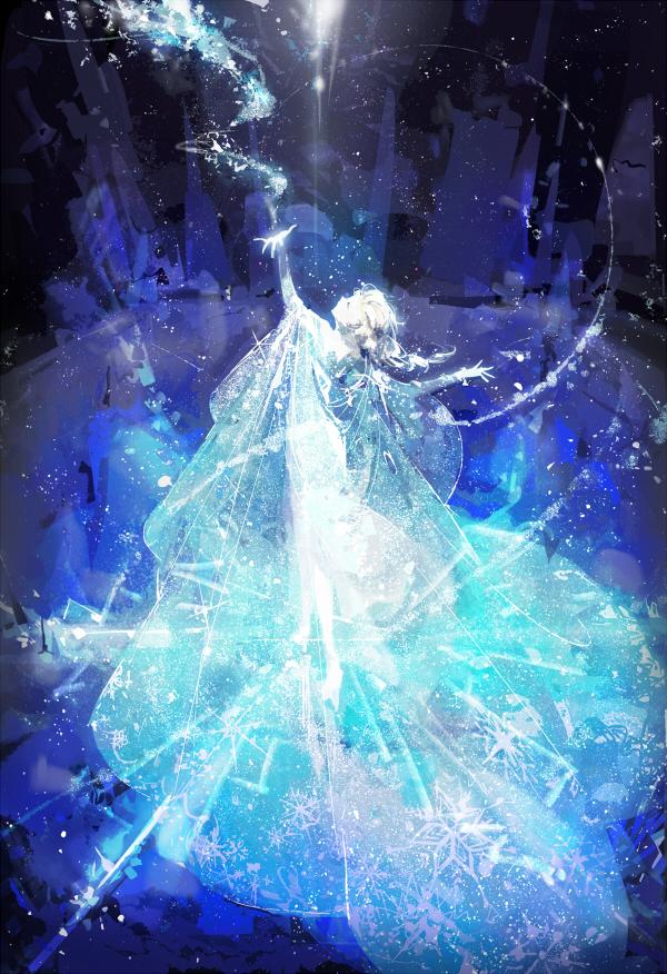 Tags: Anime, Rella, Frozen (Disney), Elsa the Snow Queen, Mobile Wallpaper, Disney, Pixiv, Fanart, Fanart From Pixiv