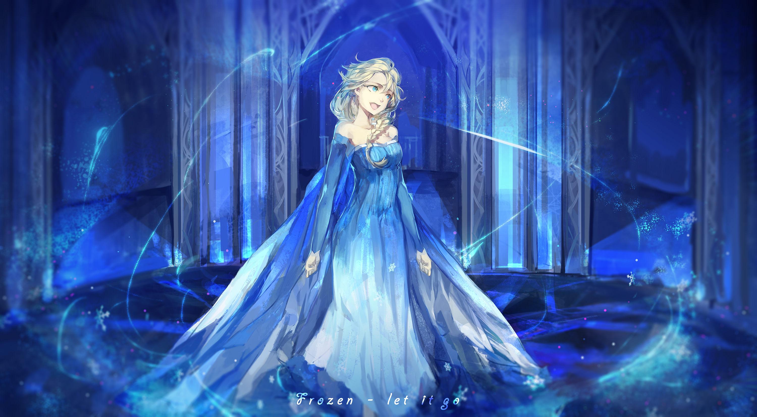 the snow queen and frozen