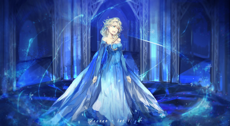 Tags Anime Saberiii Frozen Disney Elsa The Snow Queen