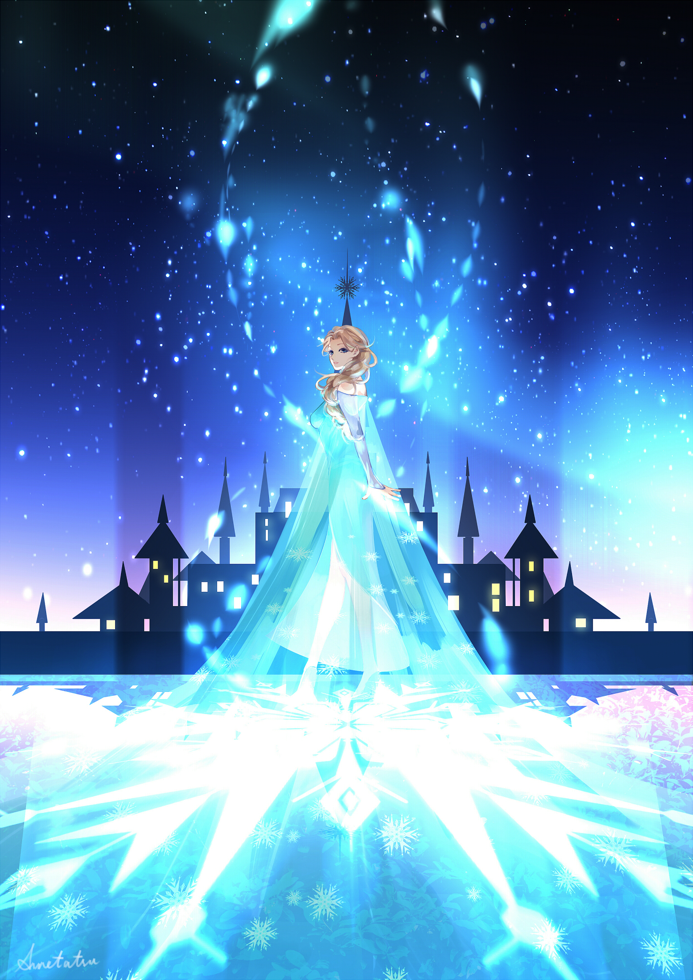 Elsa the Snow Queen, Fanart | page 2 - Zerochan Anime