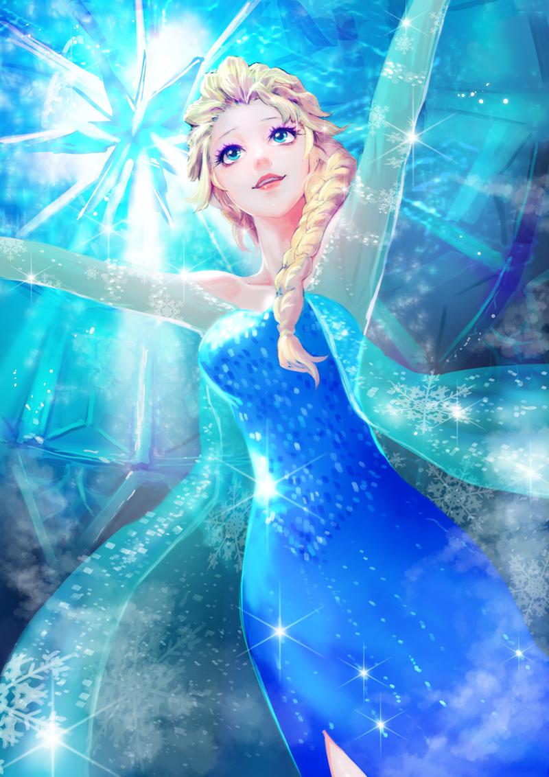 Tags Anime Meto31 Frozen Disney Elsa The Snow Queen