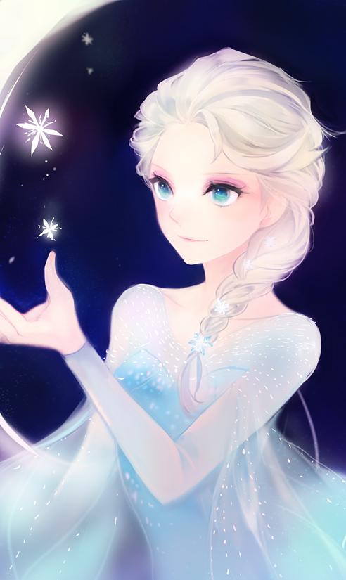 Tags: Anime, Lpip, Frozen (Disney), Elsa the Snow Queen, Fanart From Pixiv, Mobile Wallpaper, Disney, Pixiv, Fanart