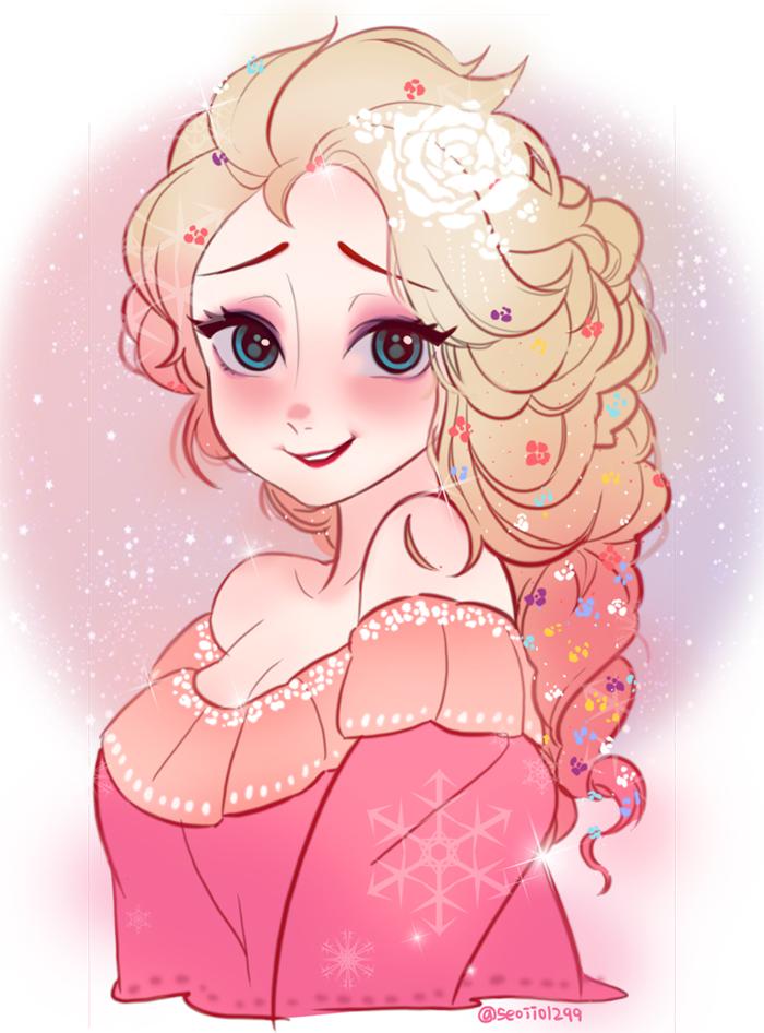 elsa the snow queen  frozen disney  image 1724915