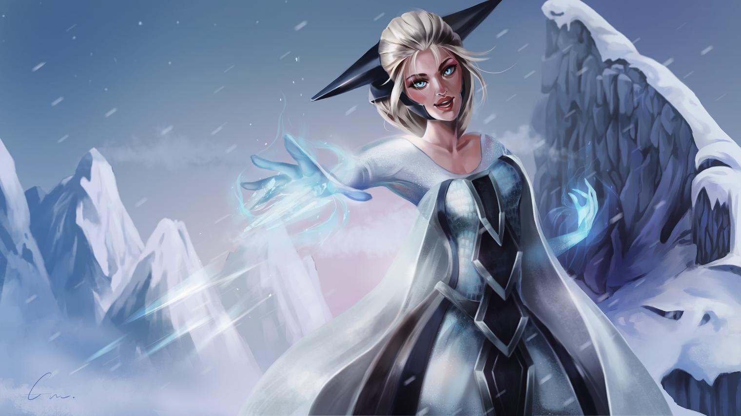 Elsa the Snow Queen - Frozen (Disney) - Image #2188825 ...