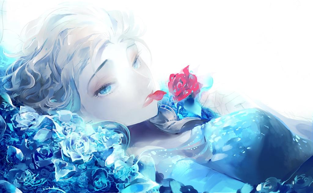 elsa the snow queen  frozen disney  image 2781104
