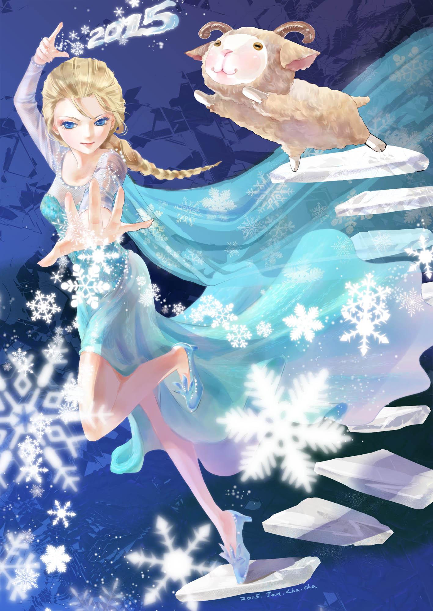 elsa the snow queen  frozen disney  image 2958959