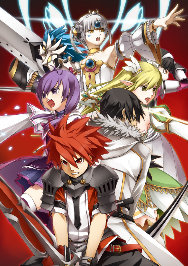 Download Anime Elsword Lord Knight Character Page 2 Of 4