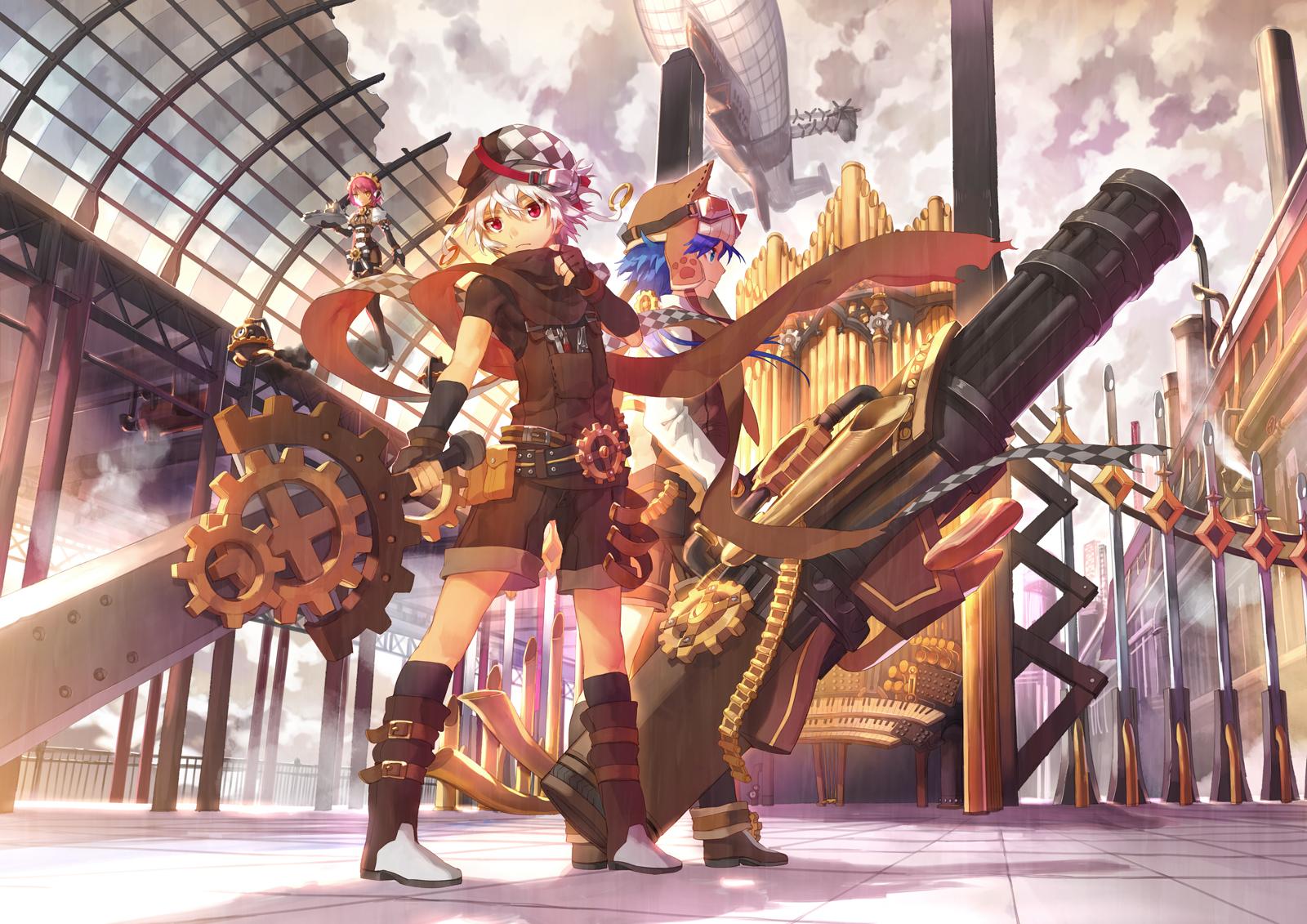 Gatling Gun Machine Gun Zerochan Anime Image Board
