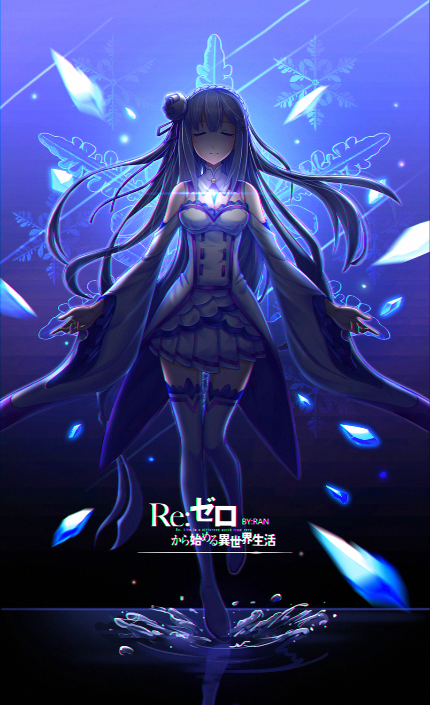 Emilia Re Zero Re Zero Kara Hajimeru Isekai Seikatsu