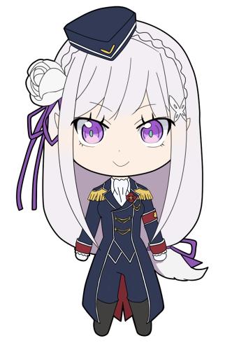 Tags: Anime, Pixiv Id 19108856, Re:Zero Kara Hajimeru Isekai Seikatsu, Emilia (Re:Zero), Crusch Karsten (Cosplay), PNG Conversion, Mobile Wallpaper