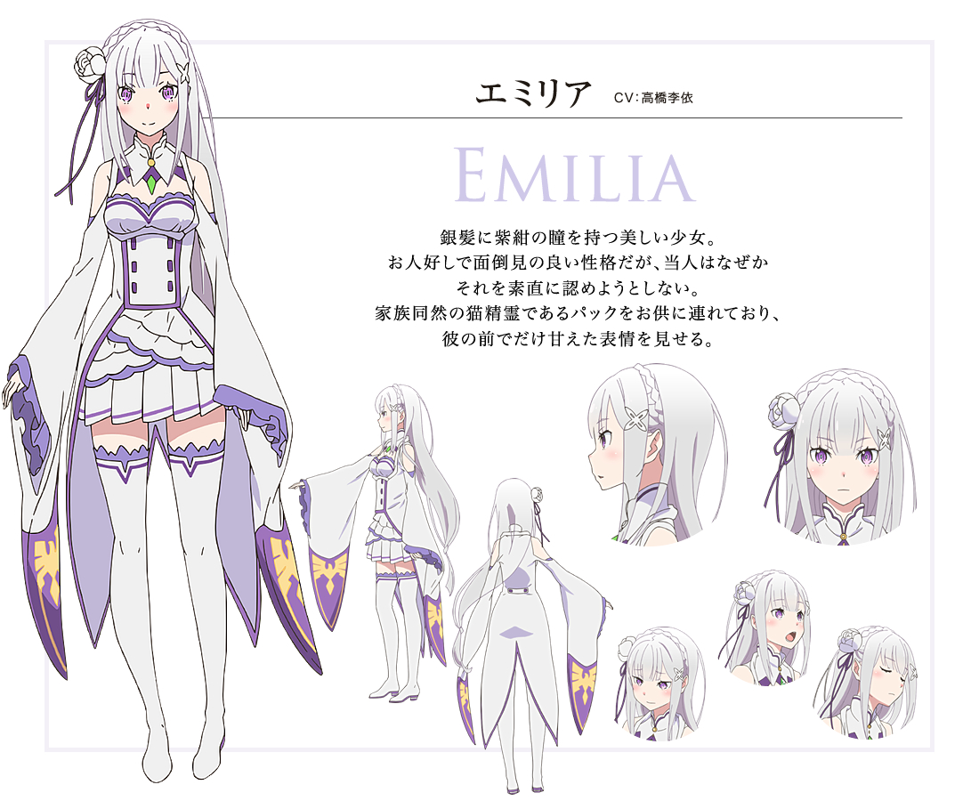 Image result for emilia re zero
