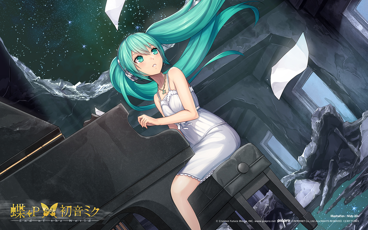 End of the world song vocaloid wallpaper 1886569 zerochan view fullsize end of the world song image voltagebd Image collections