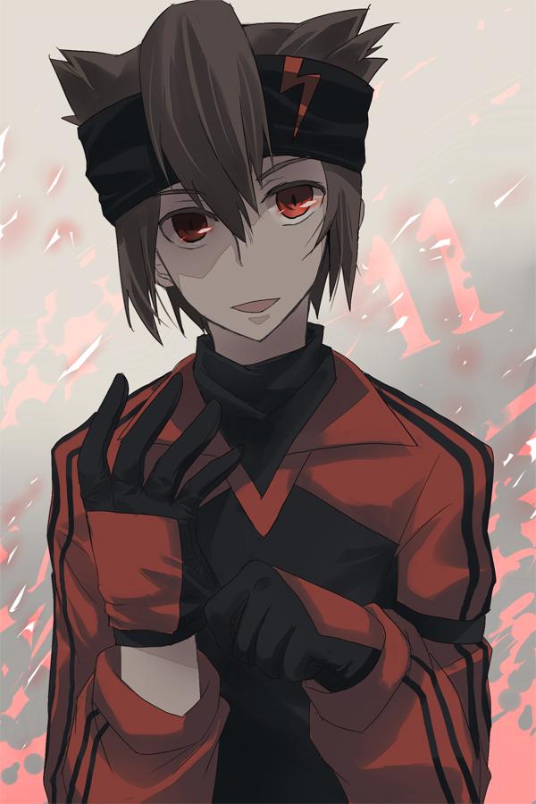 Tags: Anime, Inazuma Eleven, Endou Mamoru, Mobile Wallpaper, Dark Raimon, Mark Evans