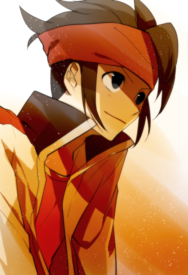Tags: Anime, Fujiwara Kai, Inazuma Eleven, Inazuma Eleven GO, Endou Mamoru, Mobile Wallpaper, Mark Evans