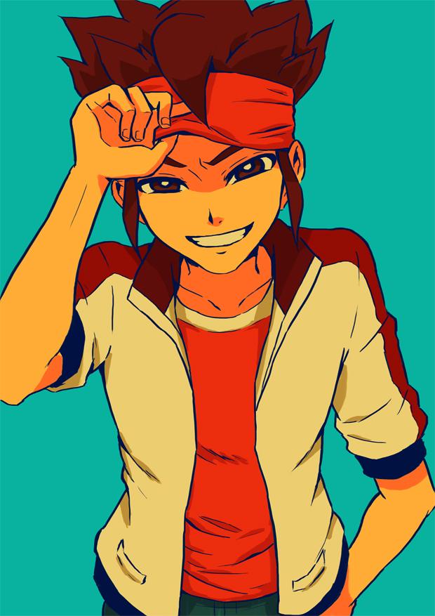 Tags: Anime, Pixiv Id 525194, Chancake, Level-5, Inazuma Eleven, Inazuma Eleven GO, Endou Mamoru, Mobile Wallpaper, Mark Evans