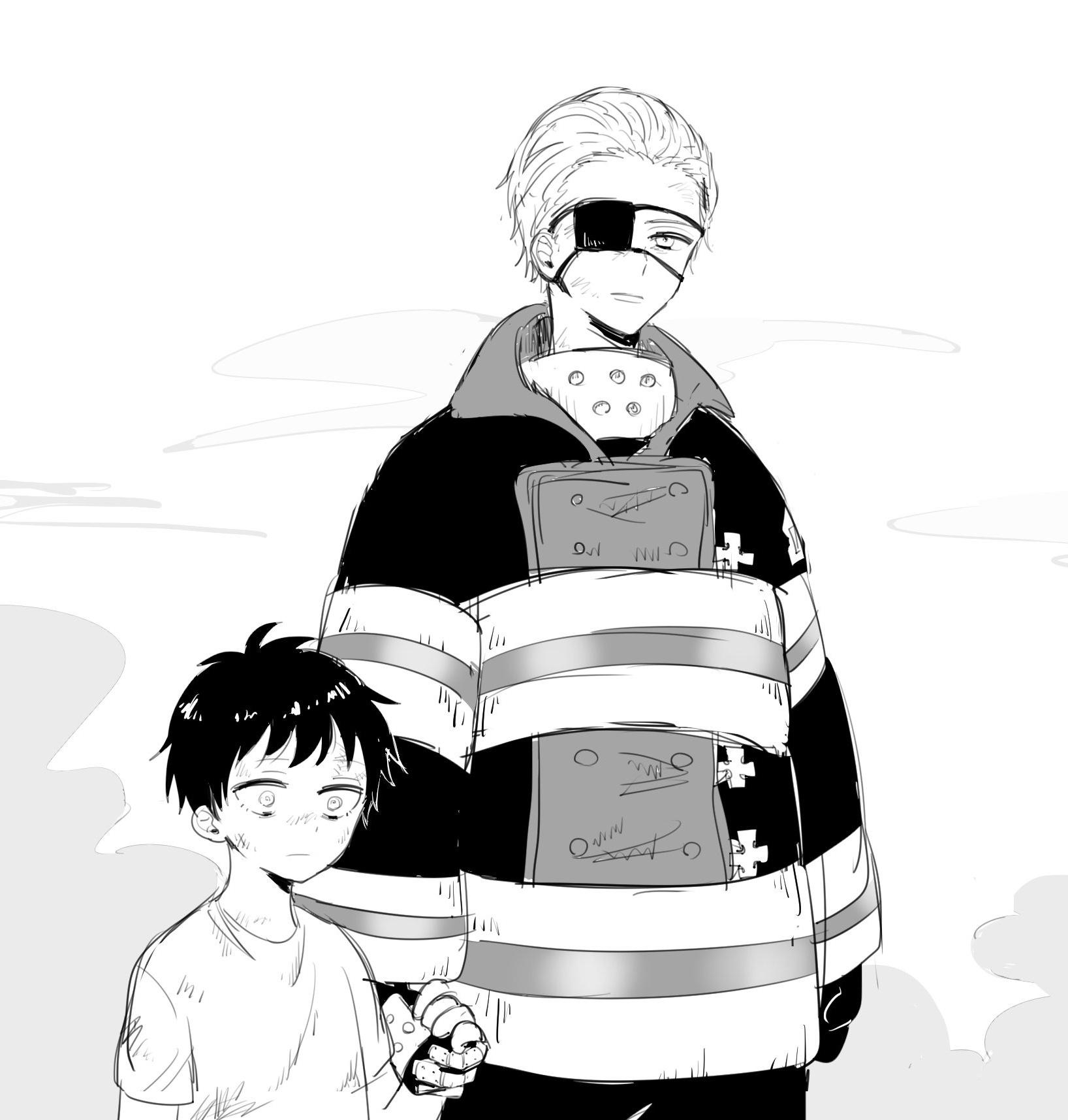 Leonardo Burns Enen No Shouboutai Zerochan Anime Image Board Huo yan li/karim flam (fire force). leonardo burns enen no shouboutai
