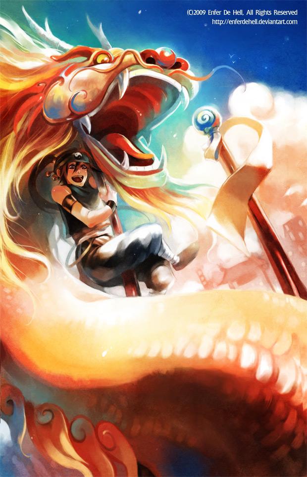 Tags: Anime, Enferdehell, Dragon Dance, deviantART, Original