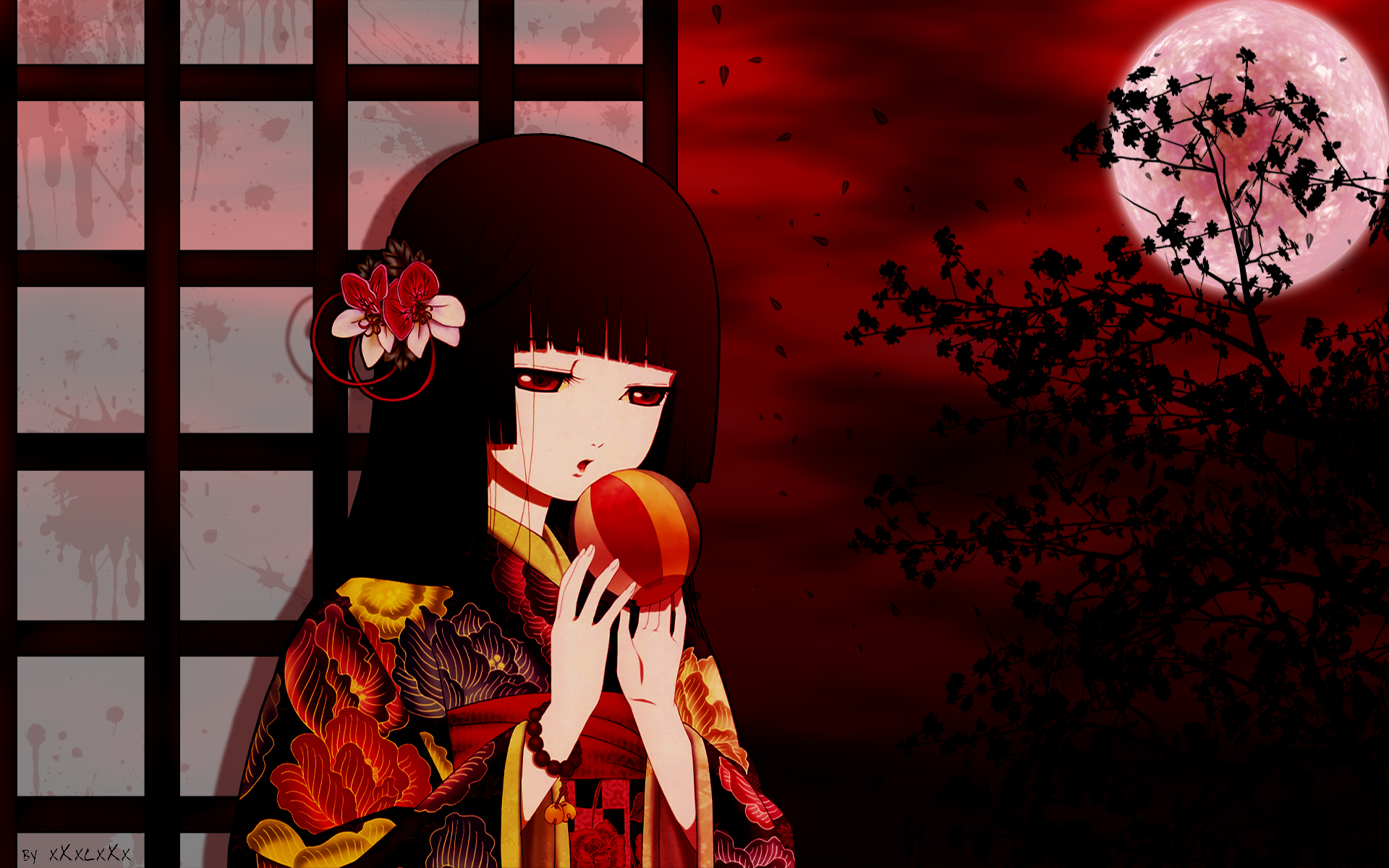 enma ai  wallpaper