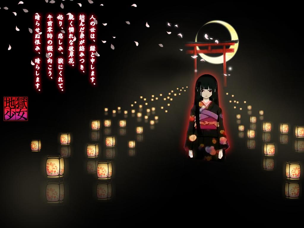 enma ai jigoku shoujo wallpaper 610217 zerochan