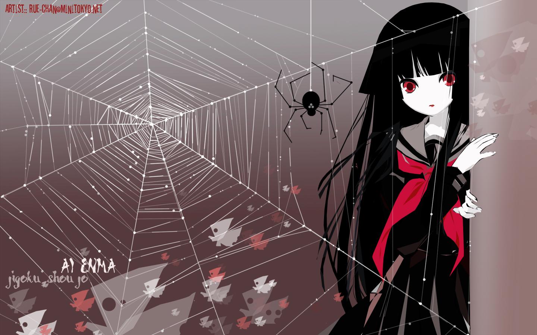 enma ai wallpaper zerochan anime image board