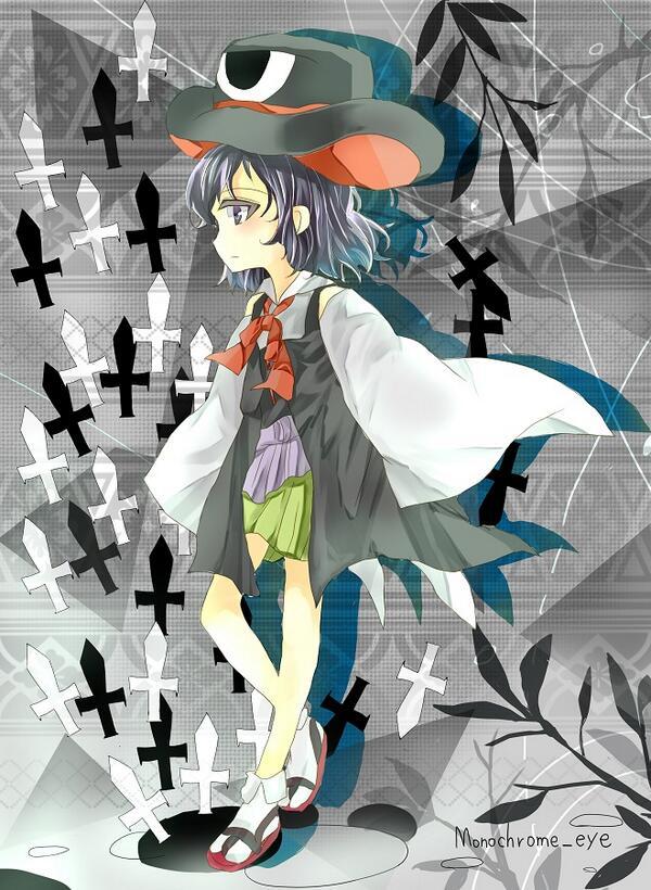 Tags: Anime, Len'en, Enraku Tsubakura, Danmaku