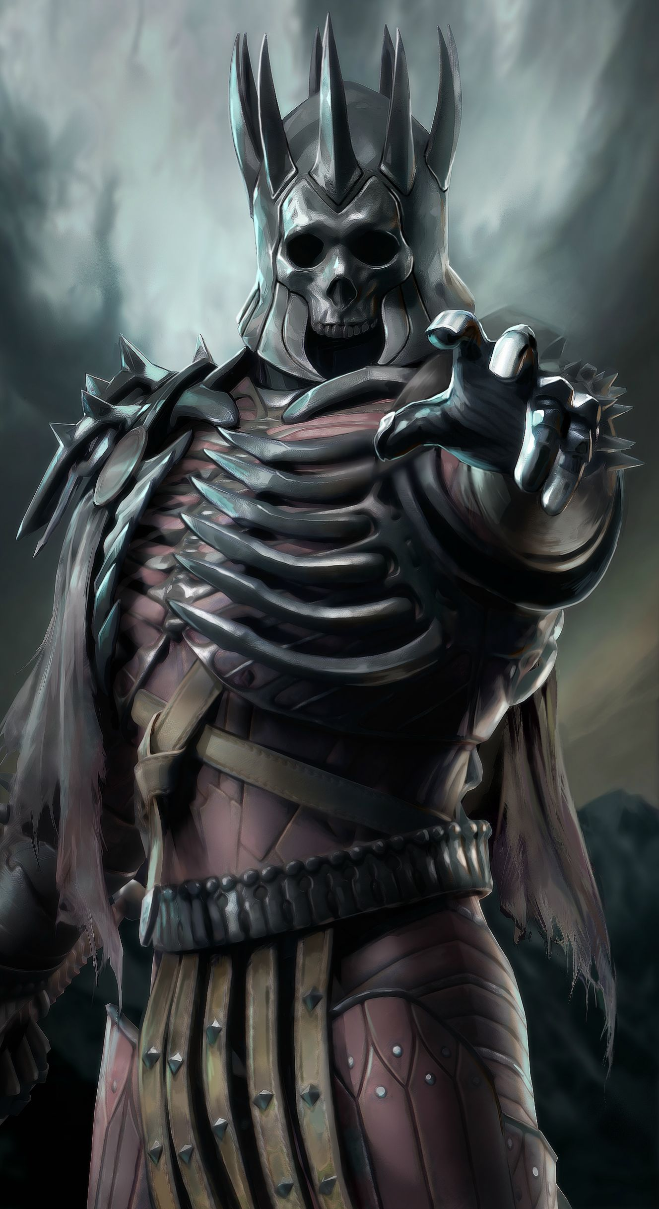 Eredin Breacc Glas The Witcher 3 Wild Hunt Zerochan Anime Image Board