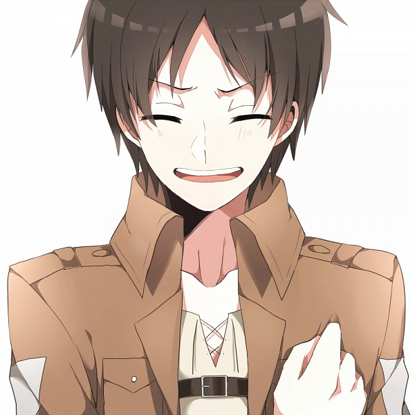 Tags: Anime, Pixiv Id 4746785, Shingeki no Kyojin, Eren Jaeger, Saluting