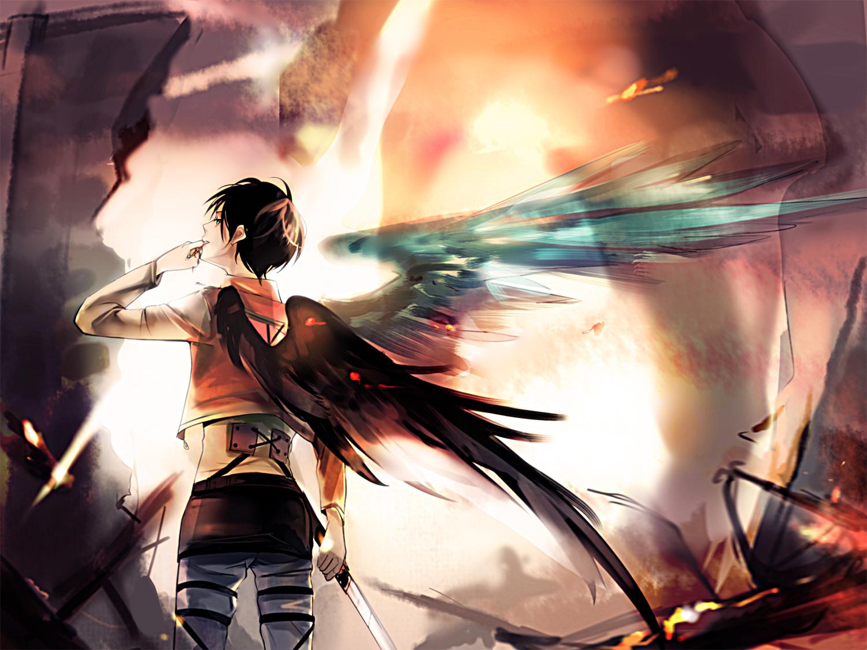 Eren Jaeger Eren Yeager Attack On Titan Zerochan Anime