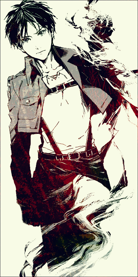 Tags: Anime, 15000 (Artist), Attack on Titan, Eren Jaeger, Pixiv, Replacement Request, Eren Yeager