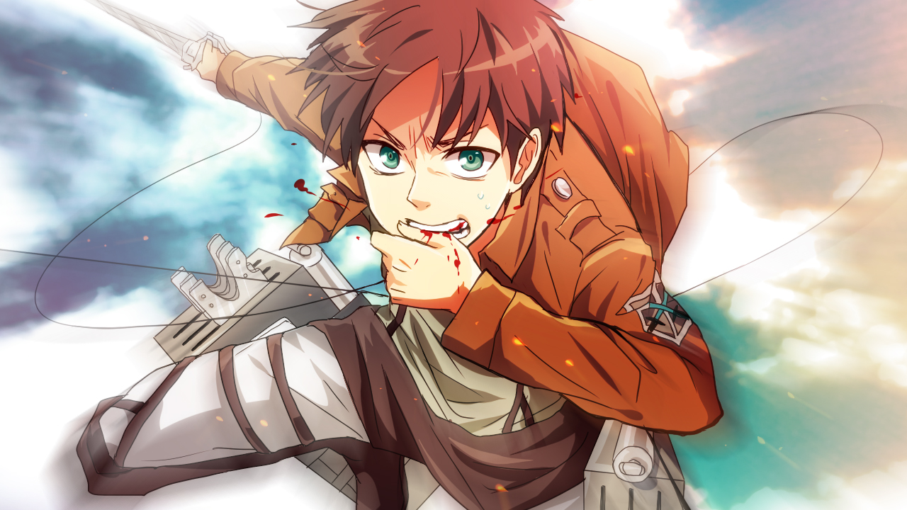 Eren Jaeger Eren Yeager Attack On Titan Wallpaper 1526528 Zerochan Anime Image Board