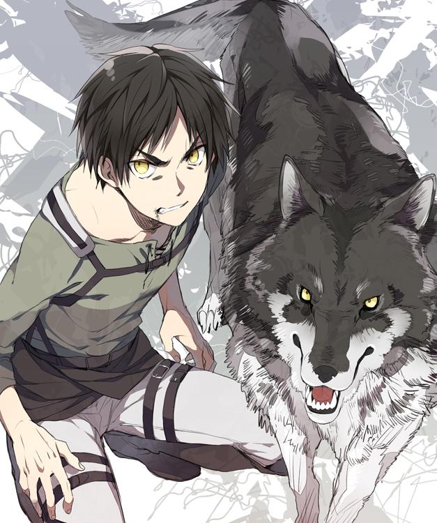 Tags: Anime, Black Akazome, Attack on Titan, Eren Jaeger, Pixiv, Eren Yeager