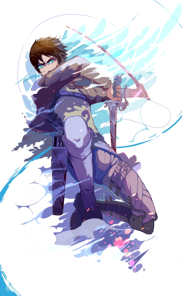 Eren Jaeger Eren Yeager Attack On Titan Mobile Wallpaper 1843958 Zerochan Anime Image Board